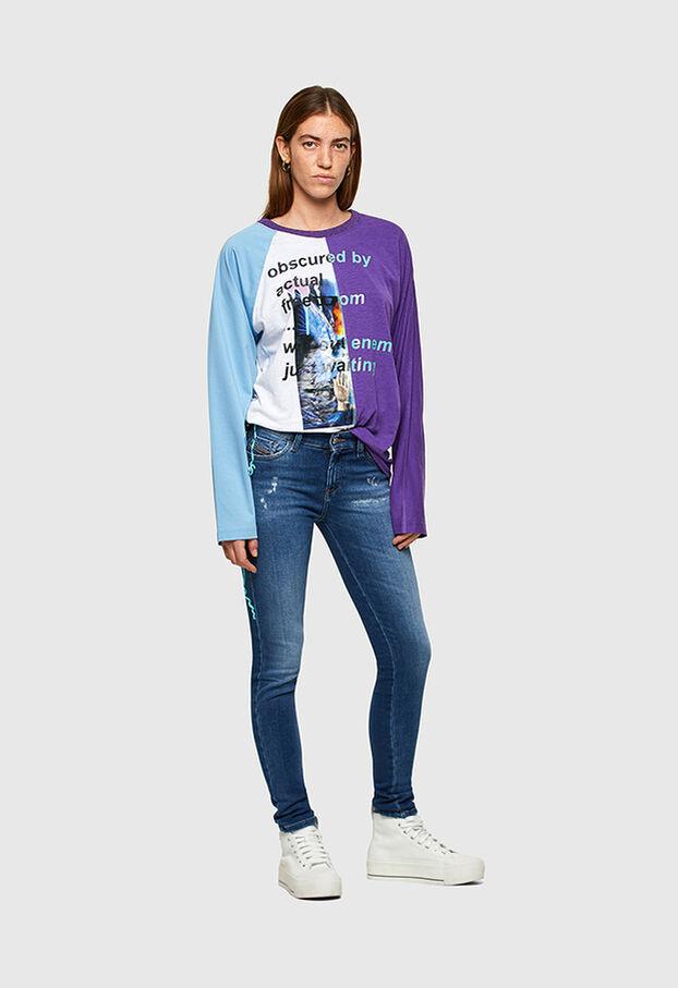 Slandy 009PU, Medium blue - Jeans