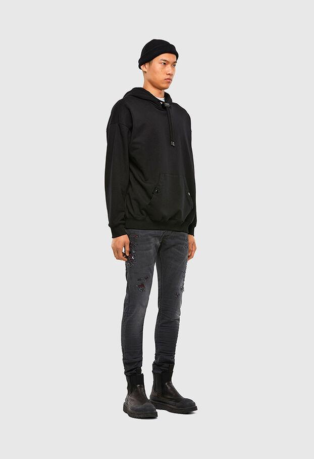 Krooley JoggJeans 069RA, Black/Dark grey - Jeans