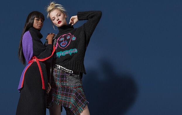 M-PERSIA, Black - Knitwear