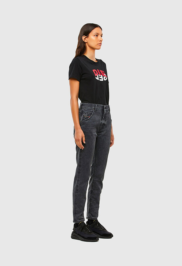 KRAILEY JoggJeans® 069QB, Black/Dark grey - Jeans