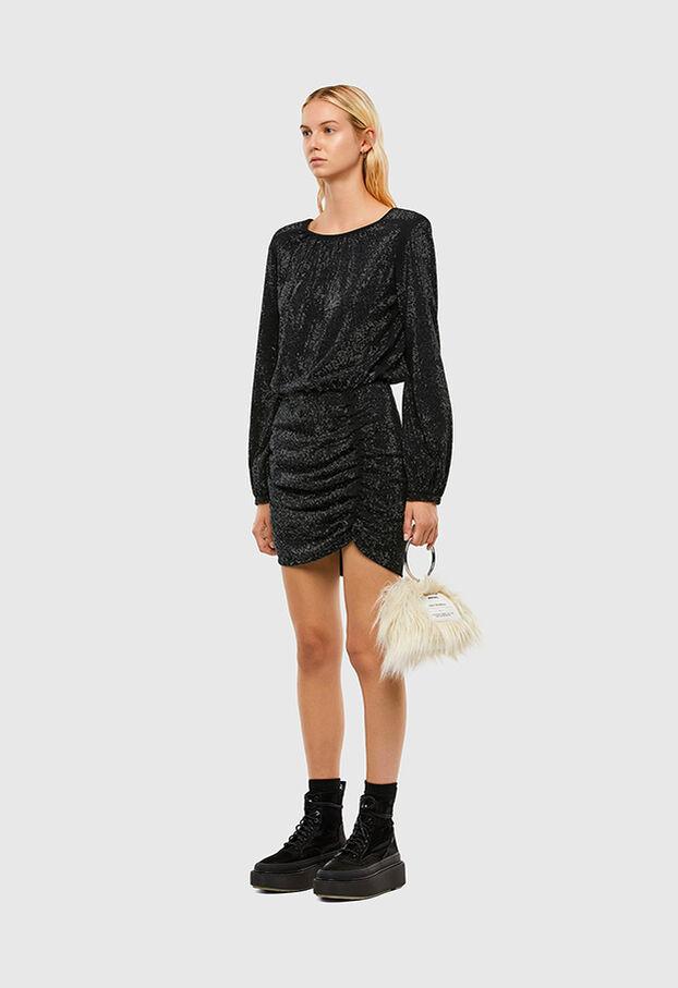D-RENEE-BLING-V2, Black - Dresses
