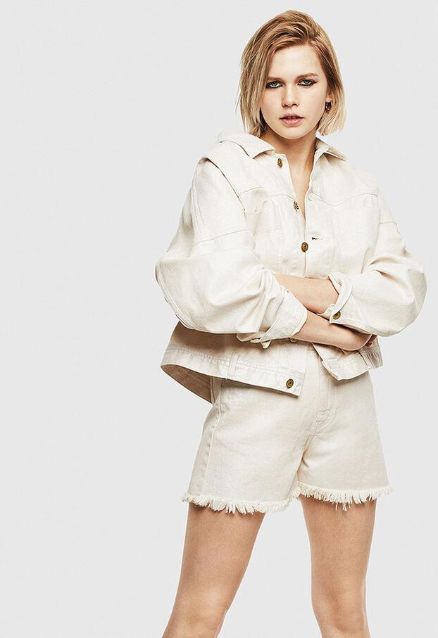 DE-EISELLE, White - Shorts