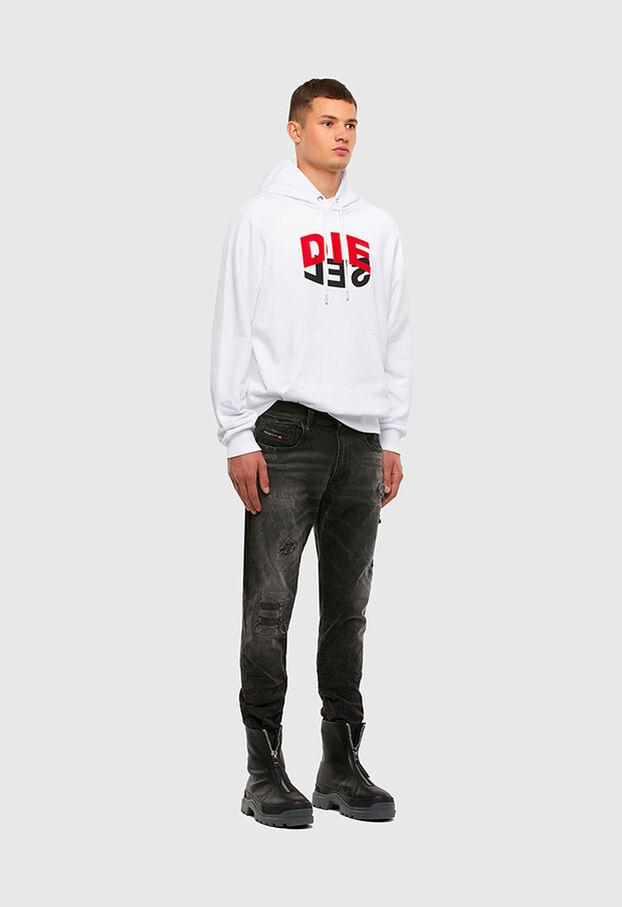 S-GIRK-HOOD-N1, White - Sweaters