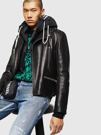Diesel - L-GOTIV,  - Leather jackets - Image 4