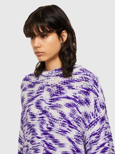 Diesel - M-HEATH, Violet/White - Knitwear - Image 3