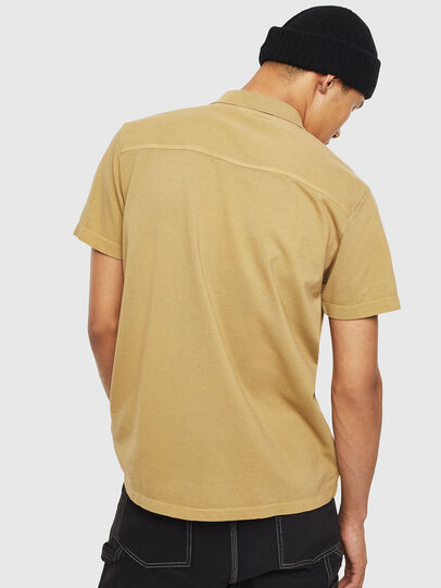 Diesel - T-POLO-WORKY, Light Brown - Polos - Image 2