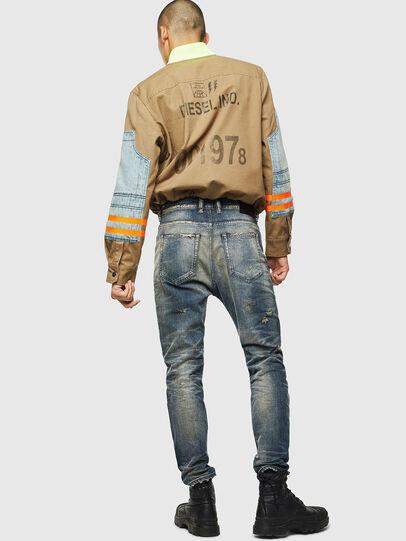 Diesel - D-Vider 0098S, Medium blue - Jeans - Image 6