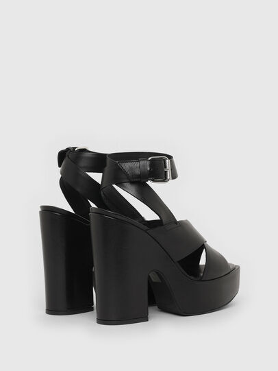 Diesel - SA-JULIA, Black - Sandals - Image 3