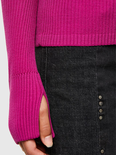 Diesel - M-KIMBERLY, Hot pink - Knitwear - Image 4