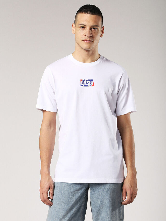 Diesel - T-JUST-ZC, White - T-Shirts - Image 2