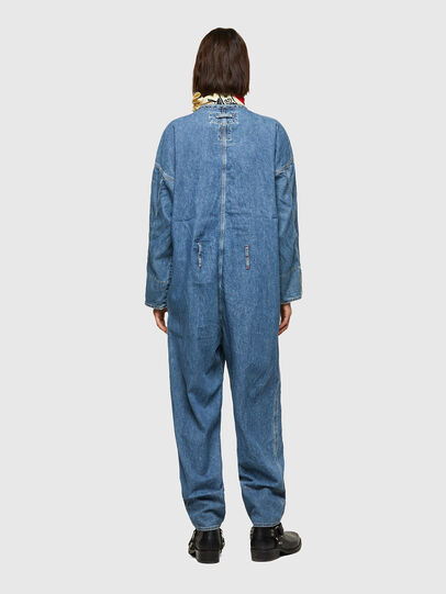 Diesel - DxD-TUTA, Light Blue - Jumpsuits - Image 5