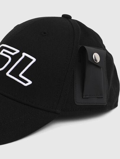 Diesel - C-VETI, Black - Caps - Image 3