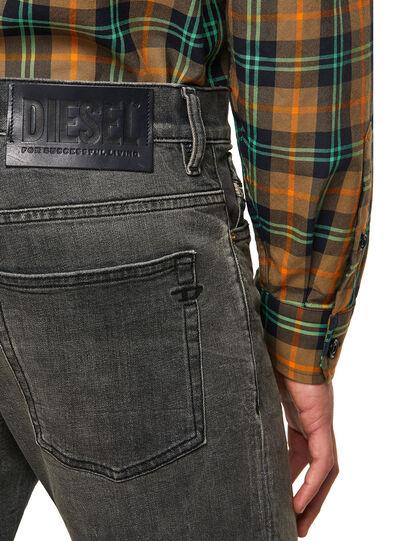 Diesel - D-Fining 09A73, Black/Dark grey - Jeans - Image 4