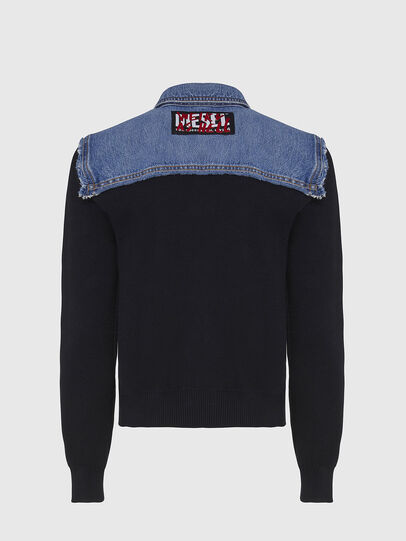 Diesel - M-ROSE, Blue/Black - Jackets - Image 2