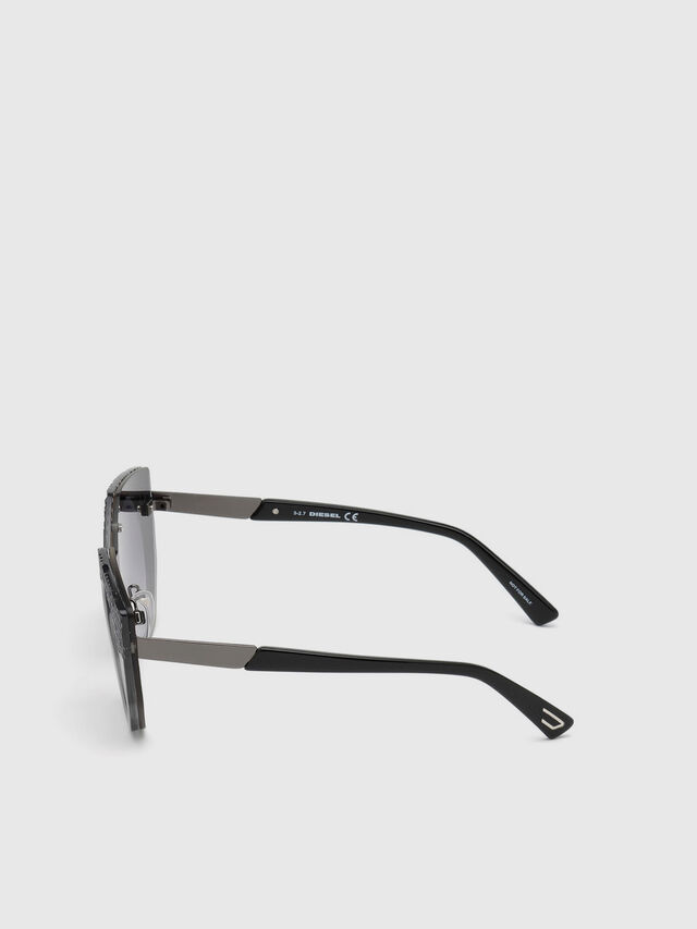 Diesel DL0258, Grey - Eyewear - Image 2