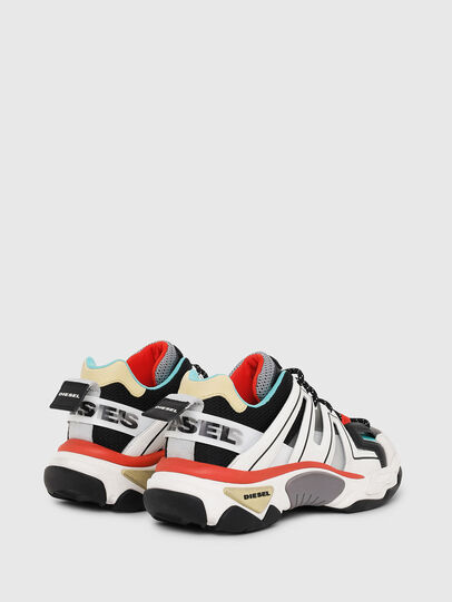 Diesel - S-KIPPER LOW TREK, White/Black - Sneakers - Image 3