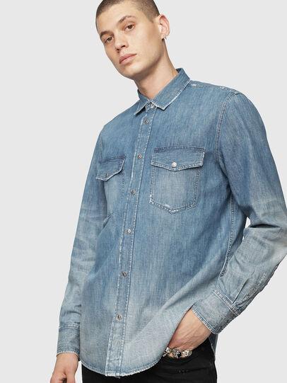 Diesel - D-ROOKE-Y,  - Denim Shirts - Image 3