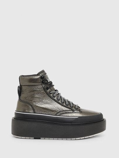 Diesel - H-SCIROCCO AB, Gold - Sneakers - Image 1