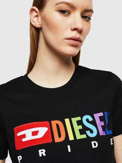 Diesel - UFTEE-SILY-INT,  - T-Shirts - Image 3