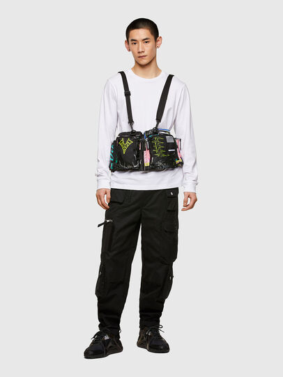 Diesel - WARMY, Black - Crossbody Bags - Image 6