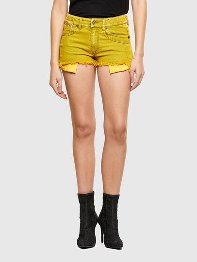 Diesel - DE-BATY-SP1, Yellow - Shorts - Image 1