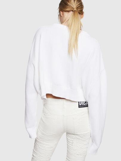 Diesel - M-LINDA, White - Knitwear - Image 2
