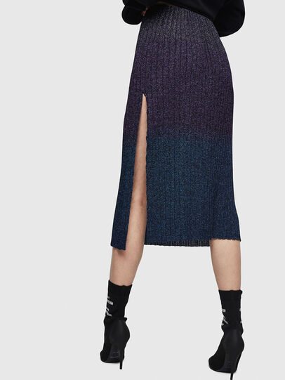 Diesel - M-ELY, Dark Blue - Skirts - Image 2