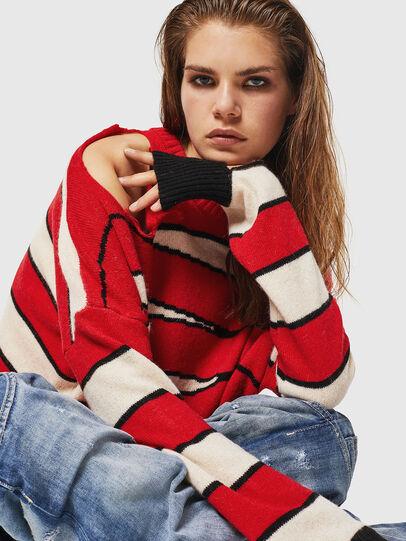 Diesel - M-PAPERY, Red - Knitwear - Image 4