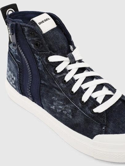 Diesel - S-ASTICO MID ZIP, Blue - Sneakers - Image 5