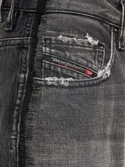 Diesel - D-Reggy 009IL, Black/Dark grey - Jeans - Image 4