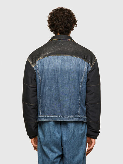 Diesel - DxD-J1, Blue/Black - Denim Jackets - Image 3