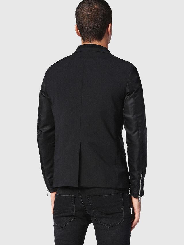 Diesel - J-FOLLYER, Black - Jackets - Image 2