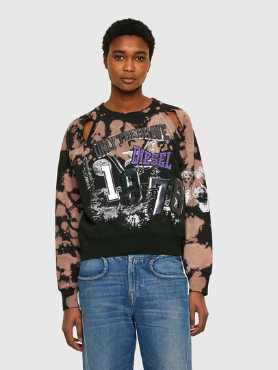 Diesel - F-FABLE, Black/Pink - Sweaters - Image 1