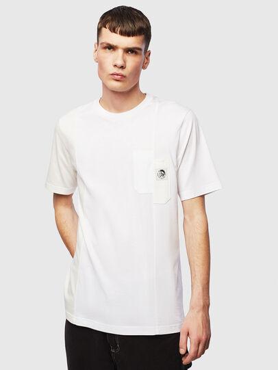 Diesel - T-RISEN, White - T-Shirts - Image 1