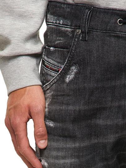 Diesel - Krooley JoggJeans® 09B53, Black/Dark grey - Jeans - Image 3