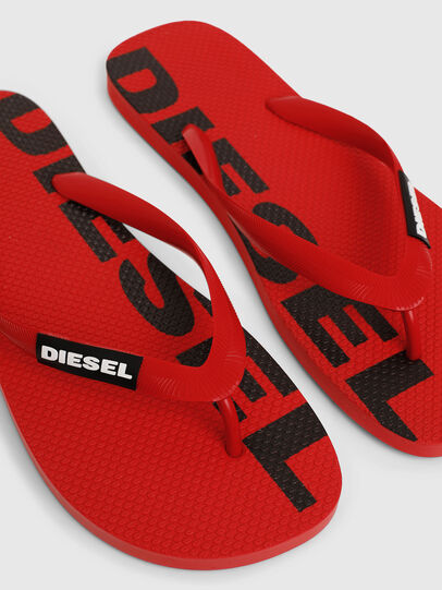 Diesel - SA-BRIIAN, Red - Slippers - Image 3