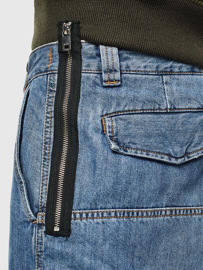 Diesel - D-LUKS-SHORT, Light Blue - Shorts - Image 4