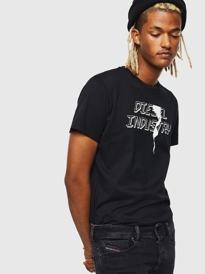 Diesel - T-DIEGO-J25, Black - T-Shirts - Image 4