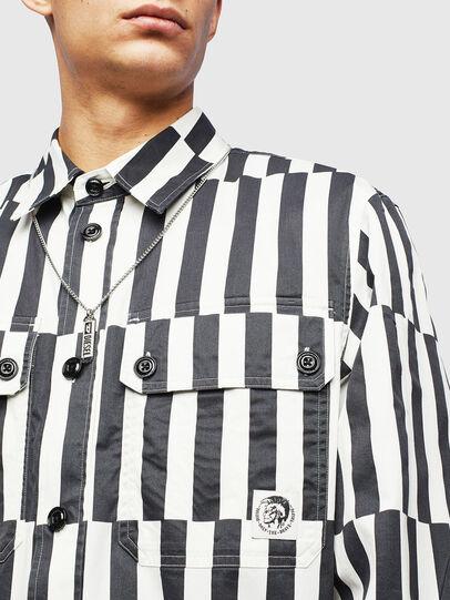 Diesel - S-JESSY-B, White/Black - Shirts - Image 5