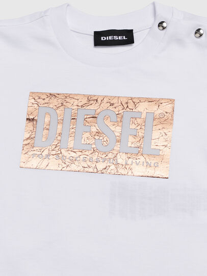 Diesel - TIRRIB, White - T-shirts and Tops - Image 3