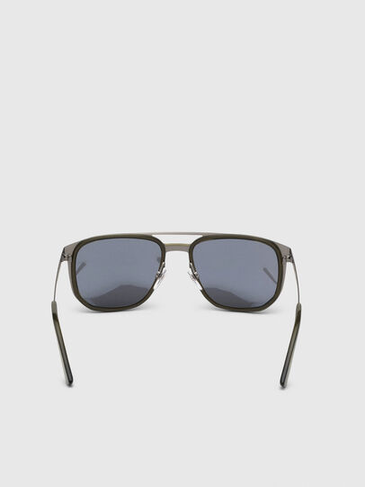 Diesel - DL0294, Olive Green - Sunglasses - Image 4