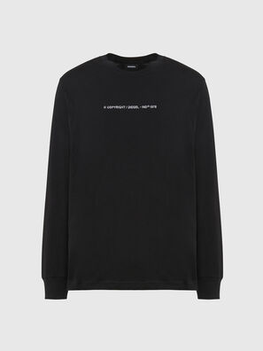 T-JUST-LS-X93, Black - T-Shirts