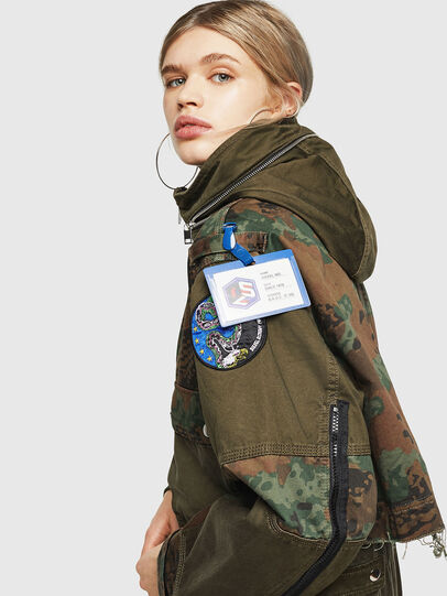 Diesel - G-LEE-C, Military Green - Jackets - Image 5