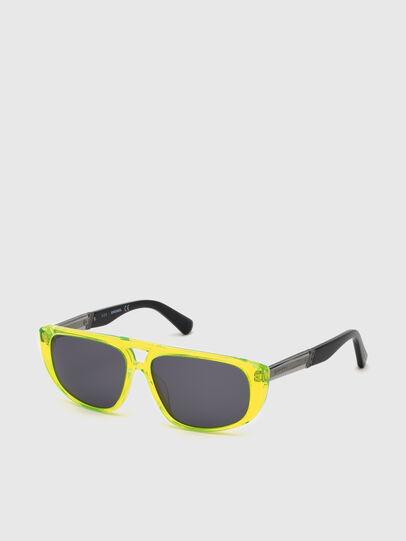 Diesel - DL0306, Yellow Fluo - Kid Eyewear - Image 2