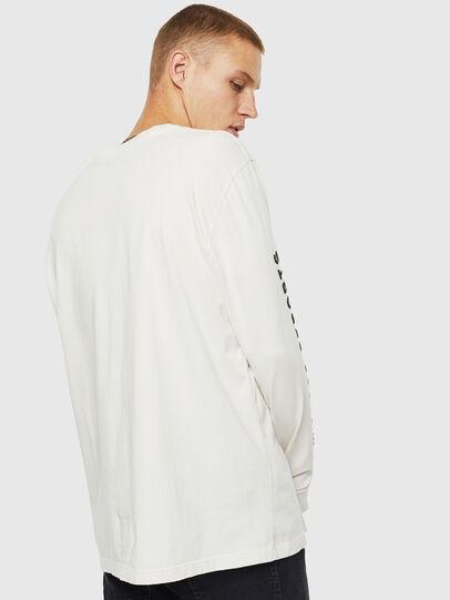 Diesel - T-JUST-LS-J3, White - T-Shirts - Image 2