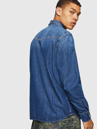 Diesel - D-EAST-P,  - Denim Shirts - Image 2