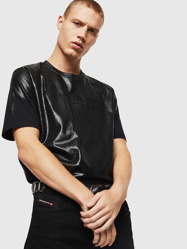 T-JUST-J1, Black - T-Shirts