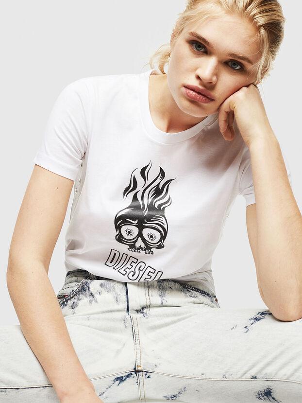 T-SILY-WQ, White - T-Shirts