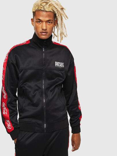 Diesel - CC-S-ROOTS-COLA, Black - Sweaters - Image 1