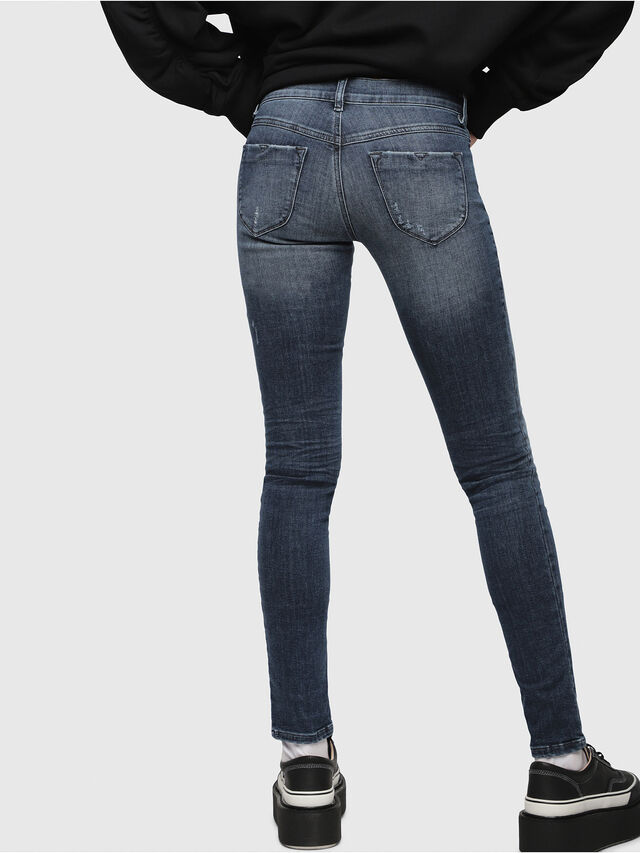 Diesel - Livier 0687L, Medium blue - Jeans - Image 2